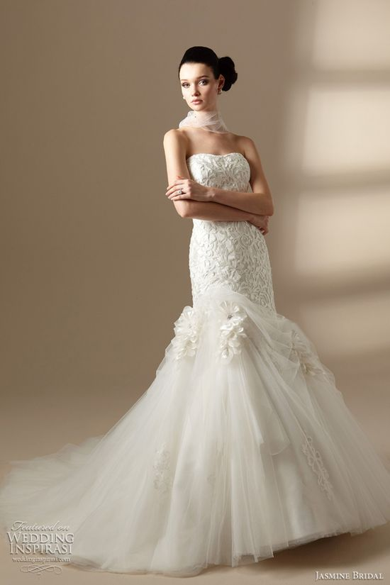 Jasmine Bridal Couture Wedding Dresses 2012
