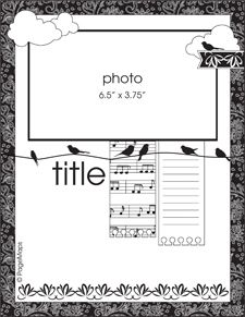 one picture page layout