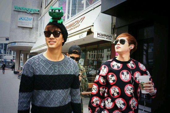 Taecyeon & Nichkhun.