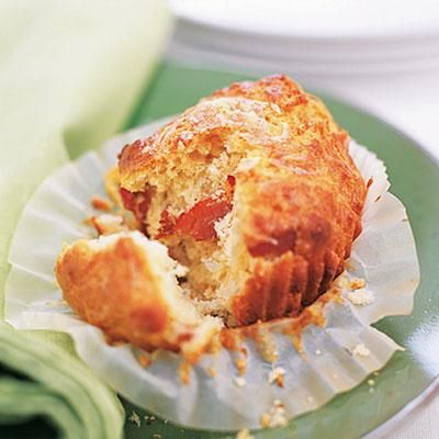 Holiday recipes: Bacon-Cheddar Muffins. Why stick with dinner rolls when you can offer these savory, addictive muffins?