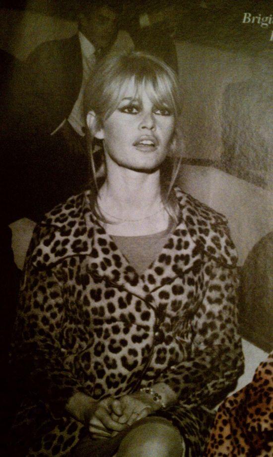 Brigitte Bardot! Ugh. I die. The Queen of sexy bangs.
