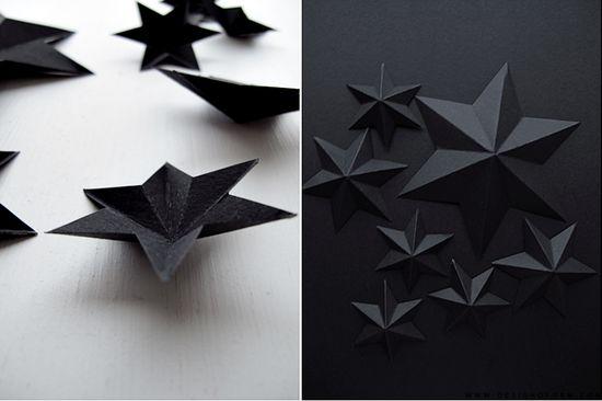 :: DIY black star ::