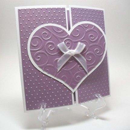 I have these embossing folders.