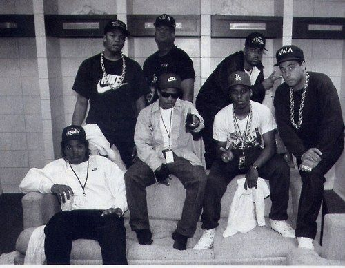 much to my dad's dismay, i loved nwa