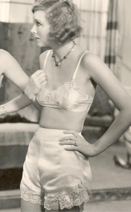 Joyce Compton - 1931-under-wear....simple, naturally enhancing what a woman ALREADY owns!!!  Imagine the poor guy who unwraps the 'BIG' girl package and finds Victorias Secrets' push ups!!!!! #justbeinghonestladies