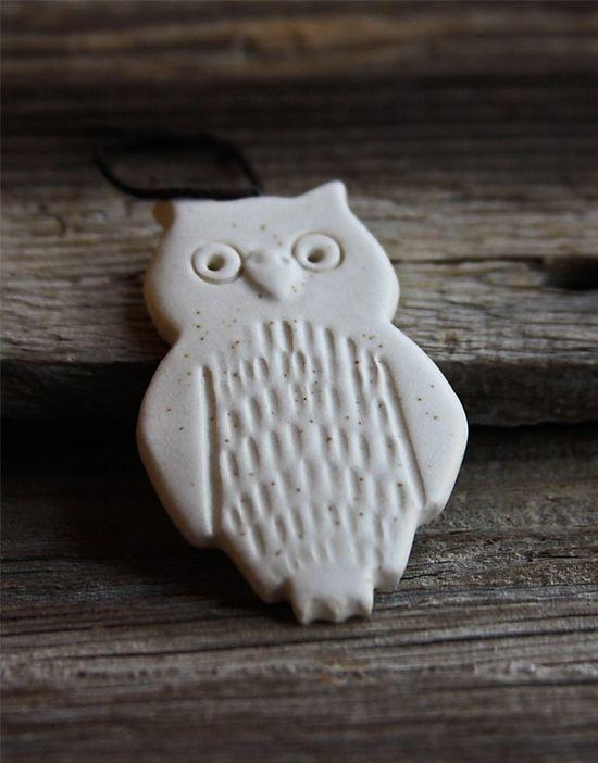 Handmade Pottery Ornament by Tasha McKelvey $12.00