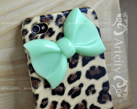 Bow iPhone case