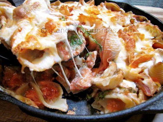 Creamy Tomato Chicken Pasta Skillet