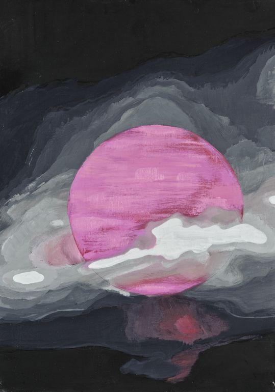 "Saatchi Online Artist: viktor kadza; Oil, 2011, Painting ""Red planet"""