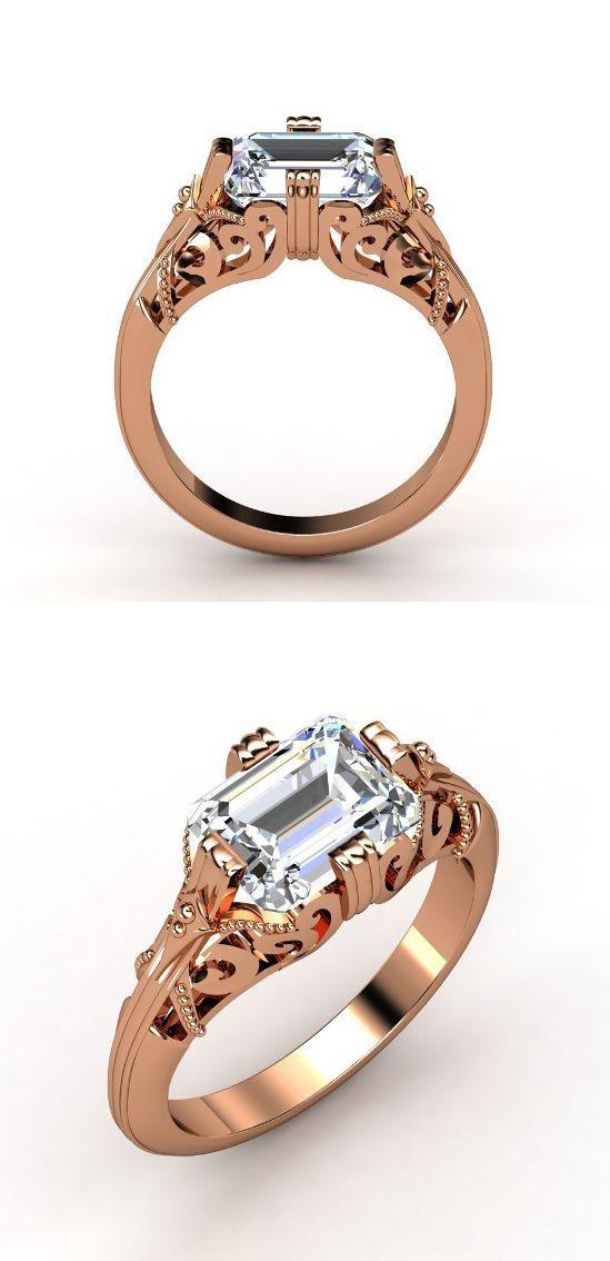 Rose Gold Diamond Ring ?