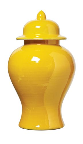 Chinese Yellow Porcelain Temple Jar, sharing beautiful designer home decor inspirations: luxury living room, dinning room & bedroom furniture, chandeliers, table lamps, mirrors, wall art, decorative tabletop & bathroom accents & gifts courtesy of instyle-decor.com Beverly Hills enjoy & happy pinning