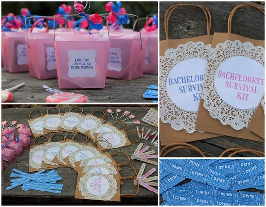 bachlorette party favors -Linen, Lace, & Love-