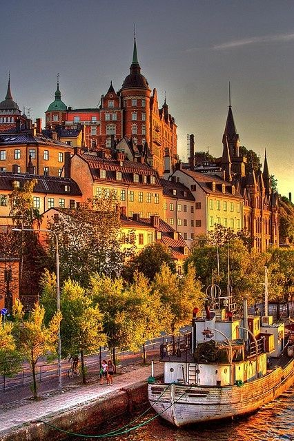 The most populous city in Sweden, Stockholm