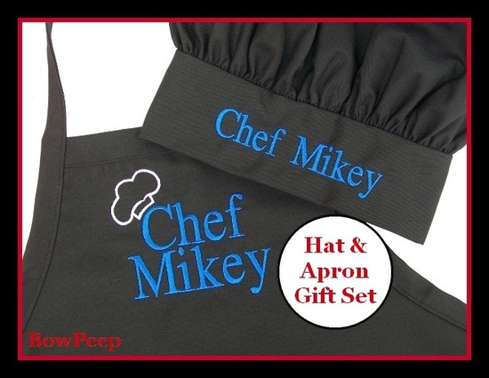 Men's Apron and Hat