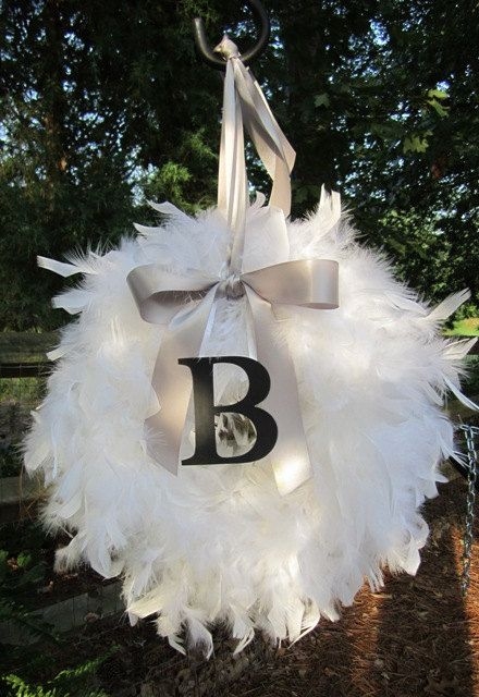 Christmas wreath? I MUST make this!!