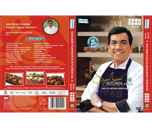 """Sanjeev Kapoor's Kitchen Volume - 4: Learn the art of cooking for the """"Master Craftsman"""""""