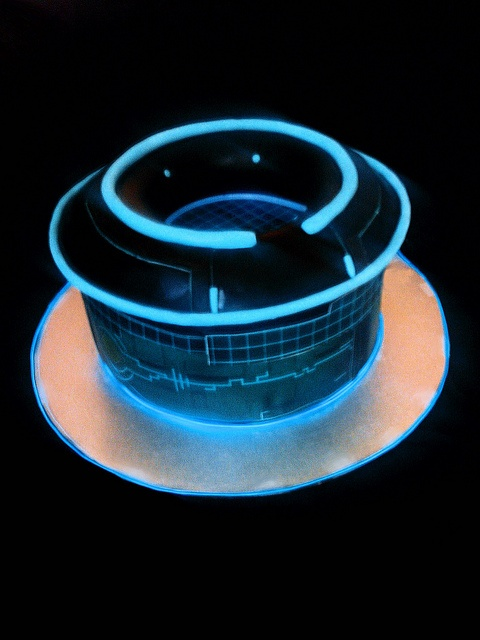 TRON inspired cake by Cake Rhapsody