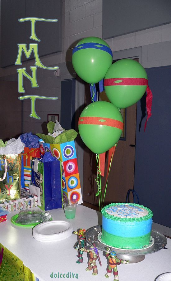 TMNT party - good idea for