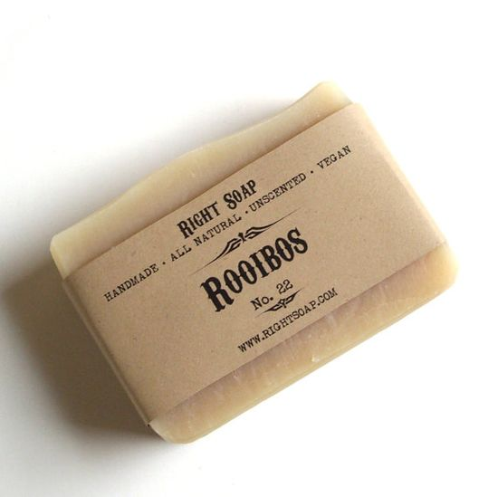 ROOIBOS SOAP  All Natural soap Vegan Soap Handmade by RightSoap, $6.00