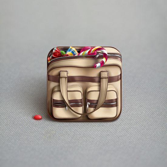 Bag App Icon #mobile #app #icon #ui