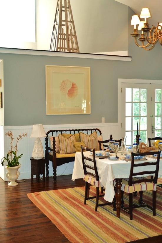 beach house dining room  Tamara Stephenson Interior Design