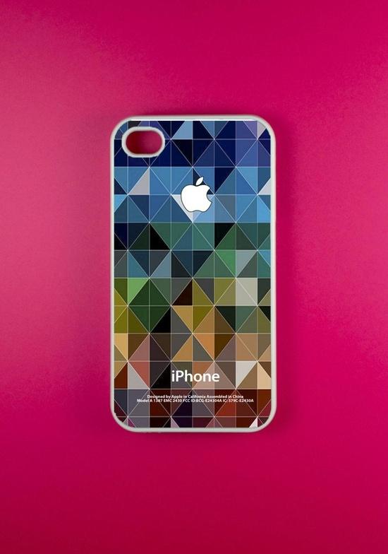 Iphone 4 Case - Geometric Pattern Iphone 4s