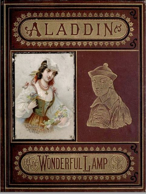 Aladdin and His Wonderful Lamp 1872 Cover