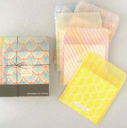 gorgeous envelopes