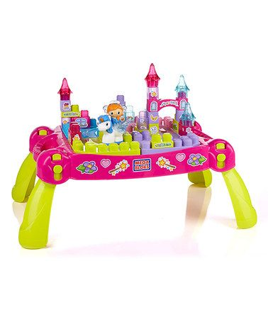Lil' Princess Block Table Set by MEGA BLOKS on #zulily