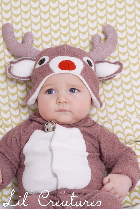Cute Lil Reindeer baby outfit