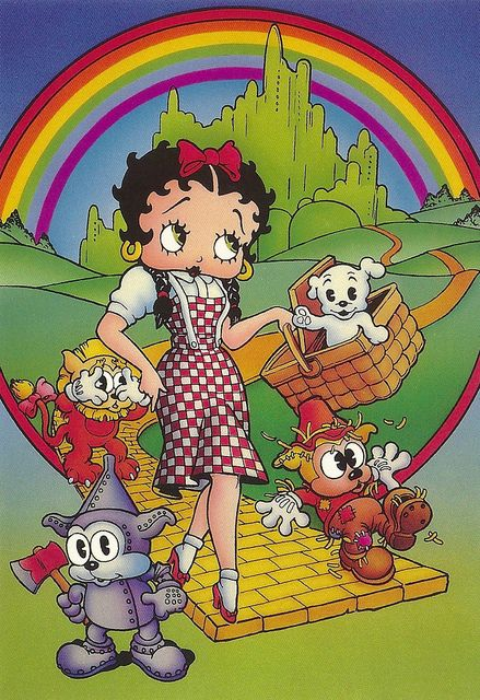 Betty Boop as the Wizard of Oz