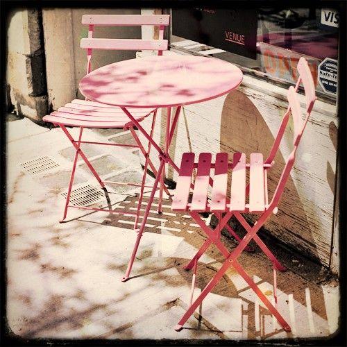 Pink Cafe by Jane Heller