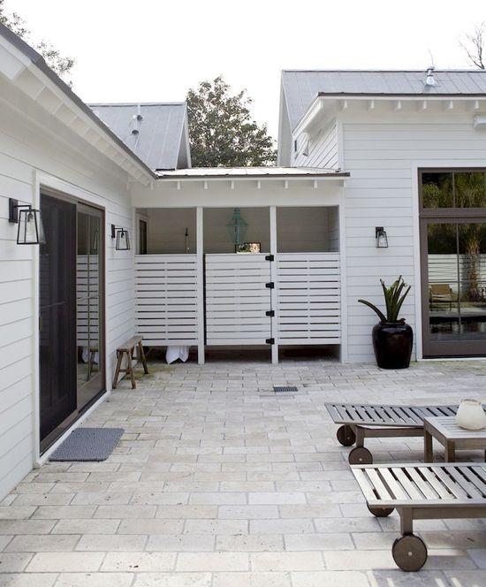 1 PHoto - Outdoor bathroom for pool