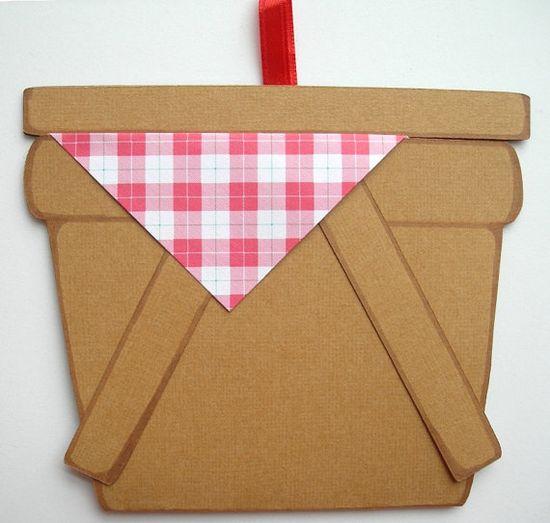 (Handicraft: Host a picnic) picnic invitations