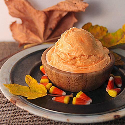 Candy Corn Ice Cream