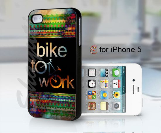 bike to work - design case for iphone