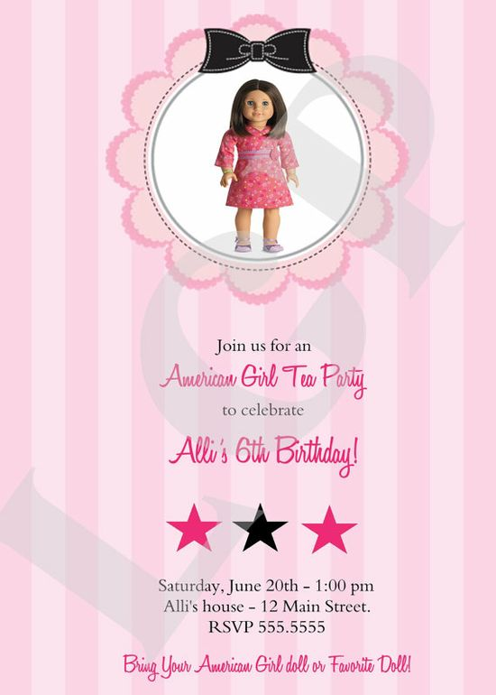 American Girl Party Games ~ Free Printable Games - Tip Junkie