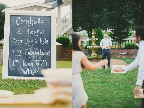 Wedding Reception Activity » Jessie Holloway Photography