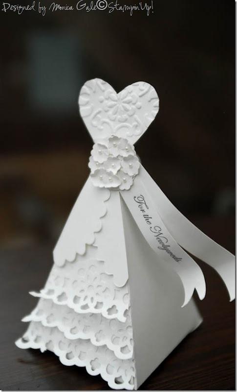 Stampin Up Wedding Favor