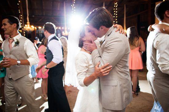 our vintage barn wedding reception