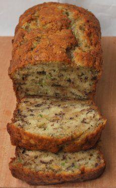 Zucchini Banana Bread - just made this...divine