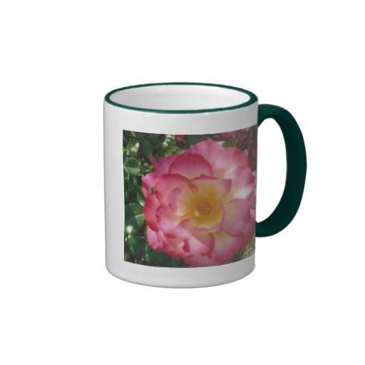 Multi-Colored Rose Coffee Mugs