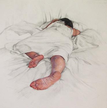 """Saatchi Online Artist Erin Whitman; Drawing, """"Safety"""" #art"""
