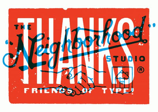 """THANKS"" By Neighborhood Studio"