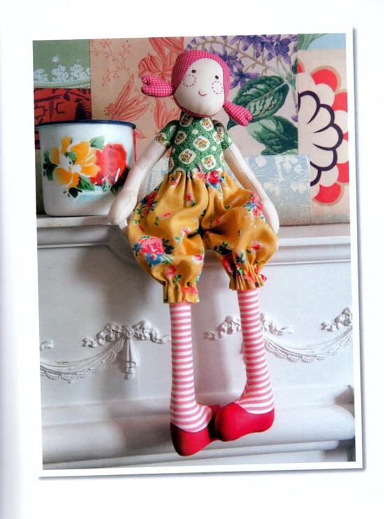 Gigi Sewing Doll Pdf E Pattern gift baby toy