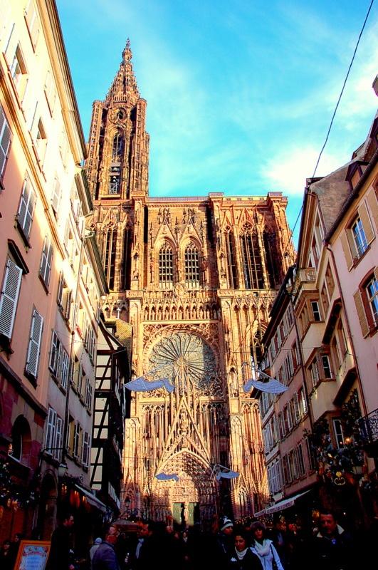 Visiting Strasbourg,