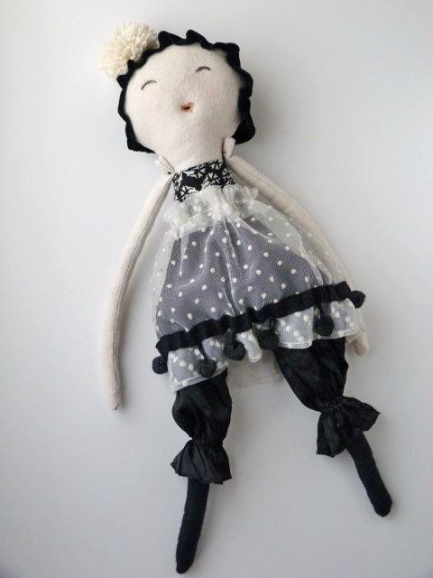 Cloth Doll, eco friendly toy, soft doll