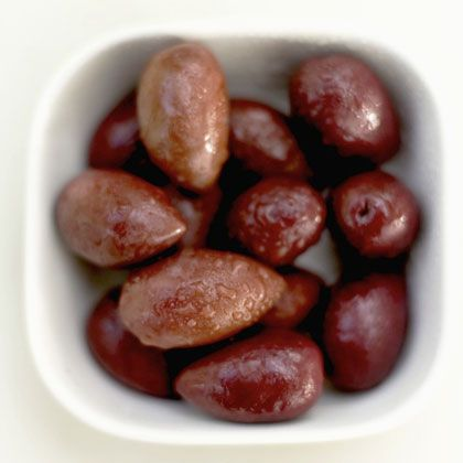 50 Tasty Foods Under 50 Calories: Olives! At only 26 calories per five olives, it's easy to keep your diet in check.