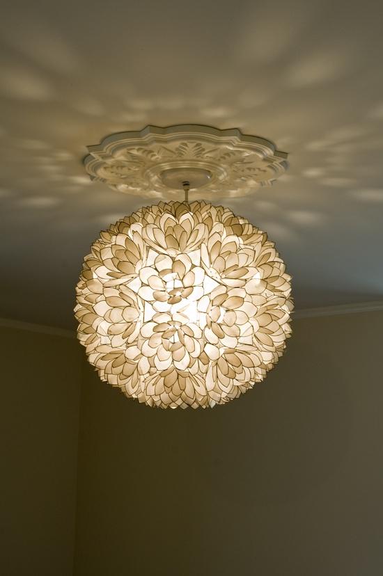master bedroom petal light