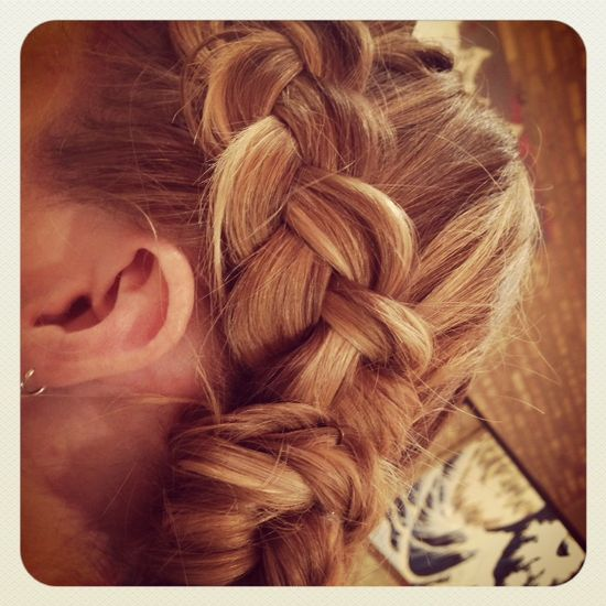 #Braid #hair #hairstyle #updo #beauty #salon #sinequanonsalons #chicago